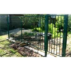 Решетка Ворота с калиткой 5*2м