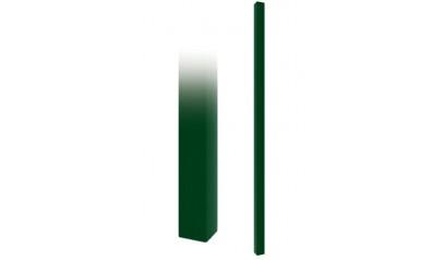 Столб (ППК зеленый) 3м 40*40 (1.5мм)