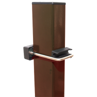 Столб (ППК коричневый)3м 50*50 (2мм)