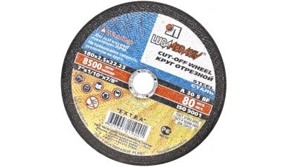 Отрезные круги по металлу Луга 180*2.0*22 уп.25шт