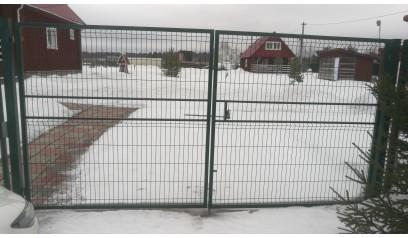 Ворота Сварная сетка МЕДИУМ 4*1,96м