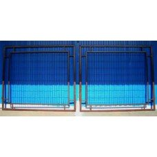 Ворота Стандарт сварная сетка 1.5*3.4м