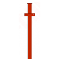 Столб (с планками) ПГ 3м. 50*50 (2мм)